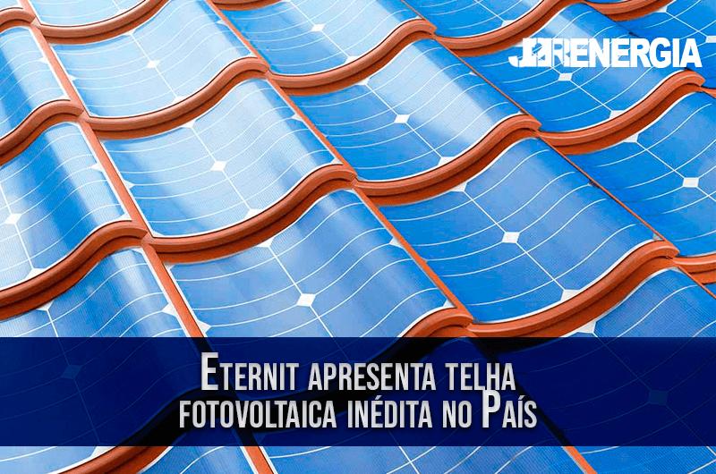 Eternit apresenta telha fotovoltaica inédita no País