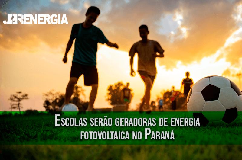Escolas serão geradoras de energia fotovoltaica no Paraná
